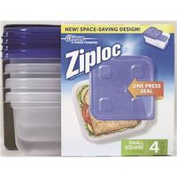 Ziploc-Snap 'N Seal 70935 Square Food Container