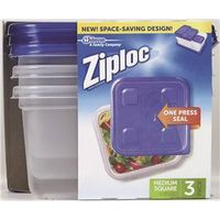 Ziploc 10880 Square Reusable Food Storage Container