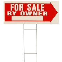 Hy-Ko RS 2-Sided Weatherproof Lawn Sign