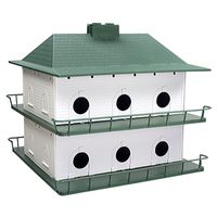 Purple Martin PH-12 Bird House 21 in W X 18 in H