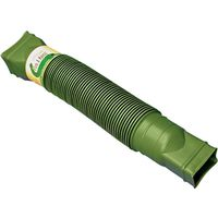 Flex-A-Spout 85011 Corrugated Flexible Rigid Downspout Extension