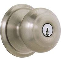 Schlage F51 Single Cylinder Entry Knob Lock