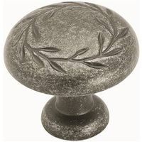 Amerock Inspirations BP1581WID Round Leaf Cabinet Knob