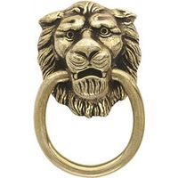 Amerock Allison BP888AE Lion Head Furniture Trim Ring Pull