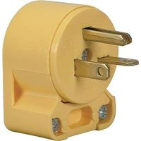 Cooper 4509AN-BOX Grounded Angled Electrical Plug