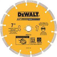 Dewalt DW4714 Extended Performance Segmented Rim Circular Saw Blade