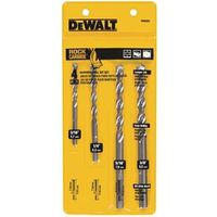 Dewalt DW5204 Percussion Drill Bit Set