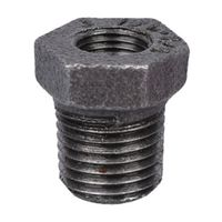 World Wide Sourcing 35-1/4X1/8B Black Pipe Hex Bushing