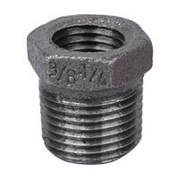 World Wide Sourcing 35-3/8X1/4B Black Pipe Hex Bushing