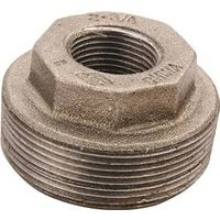 Worldwide Sourcing 35-3/4X1/2B Black Pipe Hex Bushing