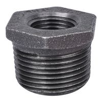 World Wide Sourcing 35-1X1/2B Black Pipe Hex Bushing