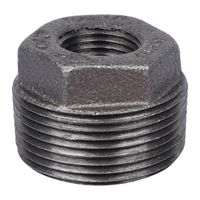World Wide Sourcing B241 32X15 Black Pipe Hex Bushing