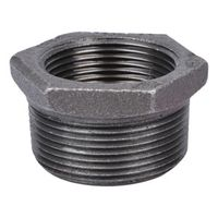 World Wide Sourcing B241 40X32 Black Pipe Hex Bushing