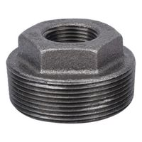 World Wide Sourcing B241 50X20 Black Pipe Hex Bushing