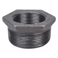 World Wide Sourcing 35-2X1-1/2B Black Pipe Hex Bushing