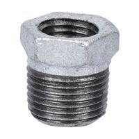 World Wide Sourcing 35-3/8X1/8G Galvanized Hex Bushing