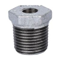 World Wide Sourcing 35-1/2X1/8G Galvanized Hex Bushing