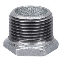 Worldwide Sourcing 35-1X3/4G Galvanized Pipe Hex Bushing
