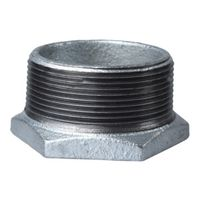 World Wide Sourcing 35-2X1-1/2G Galv. Pipe Fitting