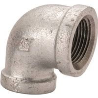 Worldwide Sourcing 2A-1G Galvanized Pipe 90 Degree Elbow