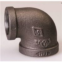 World Wide Sourcing B90R 32X25 Black Pipe Fitting