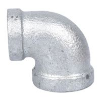 World Wide Sourcing PPG90R-10X8 Galv Pipe Fitting