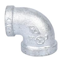 World Wide Sourcing 2B-1/2X3/8G Galvanized 90 Degree Elbow