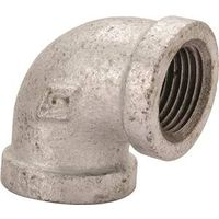 World Wide Sourcing 2B-3/4X1/2G Galvanized 90 Degree Elbow