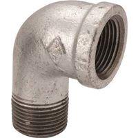 Worldwide Sourcing 6-1/2G Galvanized Pipe 90 Degree Elbow