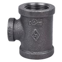 World Wide Sourcing 11A1X1/2B Black Pipe Malleable Tee