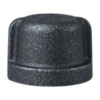 Worldwide Sourcing 18-1/2B Black Pipe Malleable Cap