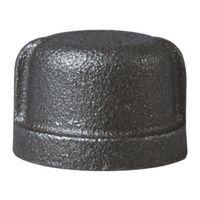 Worldwide Sourcing 18-3/4B Black Pipe Cap