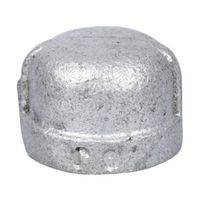 World Wide Sourcing 18-3/8G Galvanized Malleable Cap