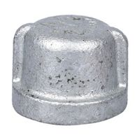 Worldwide Sourcing 18-1/2G Galvanized Pipe Malleable Cap