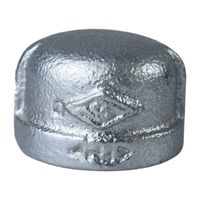 Worldwide Sourcing 18-3/4G Galvanized Pipe Malleable Cap