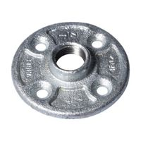 Worldwide Sourcing 27-1/2G Galvanized Pipe Malleable Floor Flange
