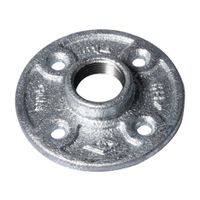 Worldwide Sourcing 27-3/4G Galvanized Pipe Malleable Floor Flange