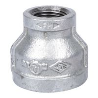 World Wide Sourcing 24-1X1/2G Galvanized Red Coupling