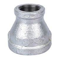 World Wide Sourcing 24-11/4X3/4G Galvanized Red Coupling