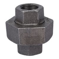 World Wide Sourcing B342 10 Black Pipe Gnd Joint Union