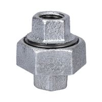 World Wide Sourcing 34B-1/4G Galvanized Malleable 150 Union