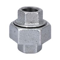 World Wide Sourcing 1309 Galvanized Malleable 150 Union