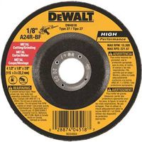 Dewalt DW4518 Type 27 Depressed Center Grinding Wheel