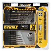 Dewalt DW1263 Pilot Point Bit Set