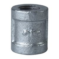 Worldwide Sourcing 21-1/4G Galvanized Pipe Malleable Coupling