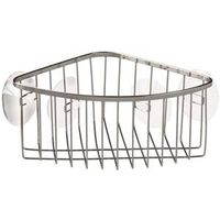 STAINLESS CORNER BASKET