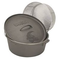 Barbour Bayou Classic Dutch Oven With Lid and Basket
