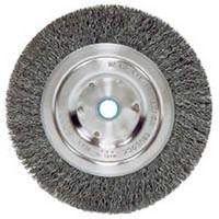 Weiler 36063 Coarse Grade Narrow Face Crimped Wire Wheel Brush