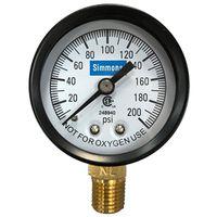 Simmons 1306 Pressure Gauge