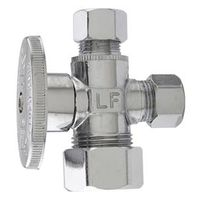 Watts LF PBQT-213 1/4 Turn 3-Way Angle Stop Valve